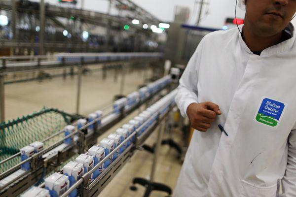 En 2016, l'entreprise Les maîtres laitiers du Cotentin a obtenu des financements européens pour construire une nouvelle usine à Méautis