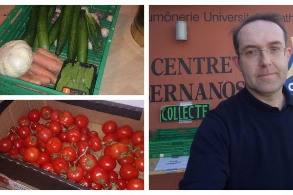 La collecte de fruits et légumes pour les jeunes mineurs isolés du Centre Bernanos