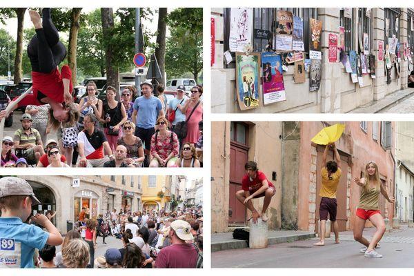 Instantanés du festival off de Chalon dans la rue