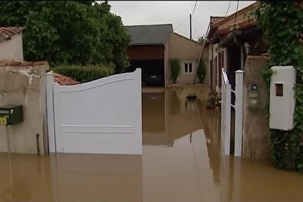 Maison inondée