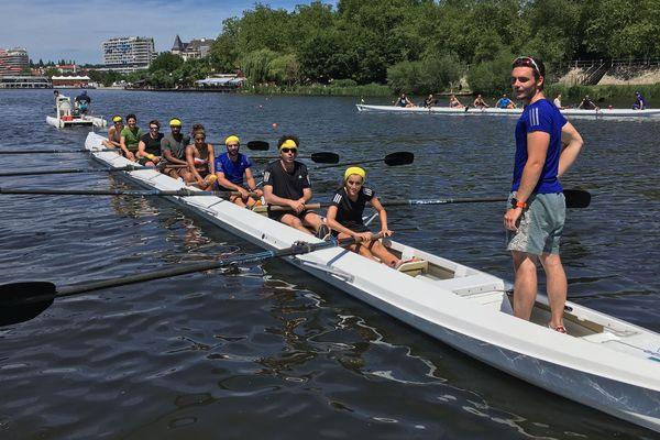Jusqu'au 20 juin 2019 à Vichy, des jeunes espoirs du sport sont coachés par des champions olympiques ou du monde pour apprendre à gérer une carrière au plus haut niveau.