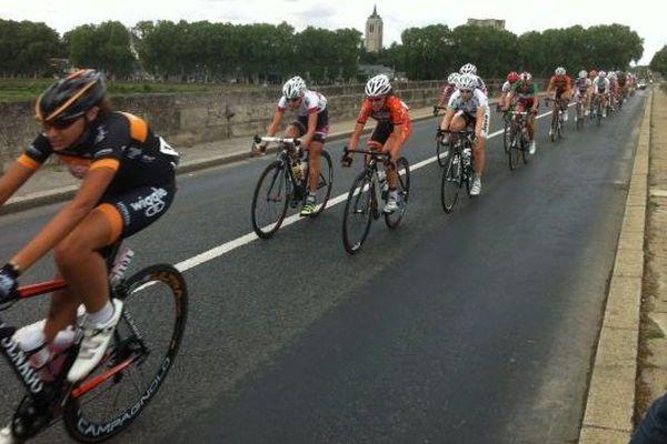 Départ de la 4e étape de la Route de France Internationale Féminine Cloyes-sur-le-Loir- Briare - 140 km