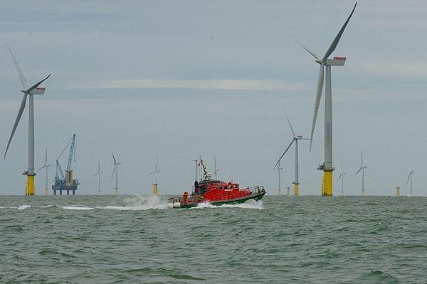 Un exercice international de sauvetage a eu lieu mardi 2 octobre dans un champ éolien britannique en cours de construction.