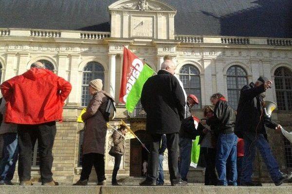 Manifestation de soutien aux agriculteurs de Notre Dame des Landes