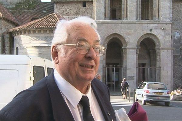 L'abbé Claude Soumagne en septembre 2011