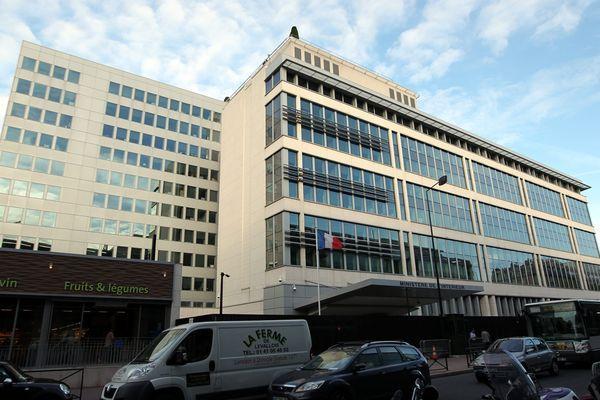 Le siège de la Direction générale de la sécurité intérieure, à Levallois-Perret, dans les Hauts-de-Seine.