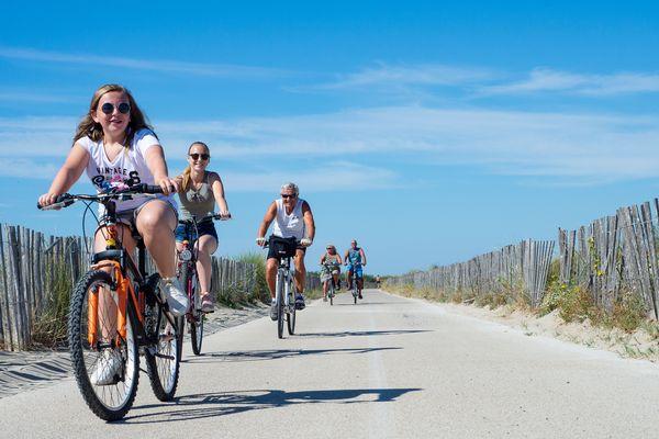 C'est à la demande des touristes, au départ, que la municipalité de Marseillan a commencé à développer les pistes cyclables sur son territoire.