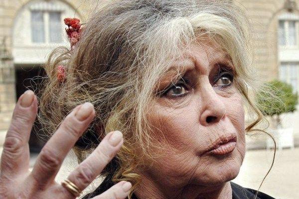 Brigitte Bardot en 2007.