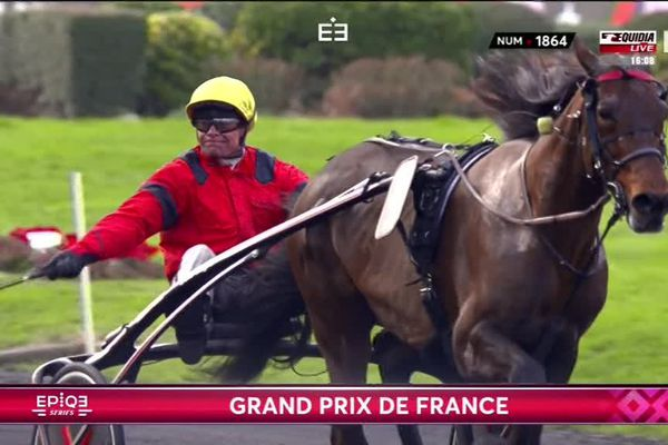 Drivé par Franck Nivard, Bold Eagle triomphe dans le Grand Prix de France
