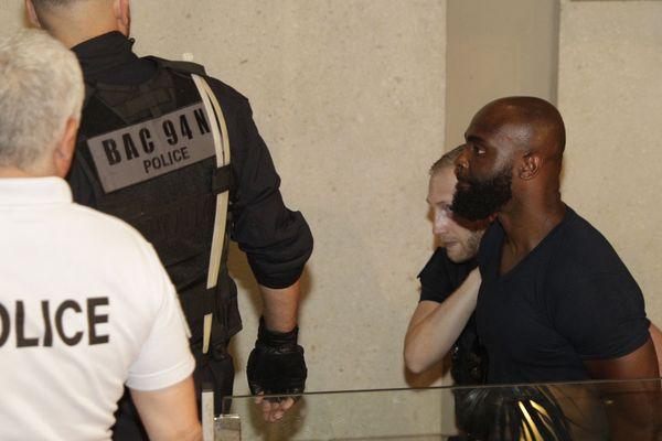 Le rappeur Kaaris au tribunal de Créteil le 3 août 2018.