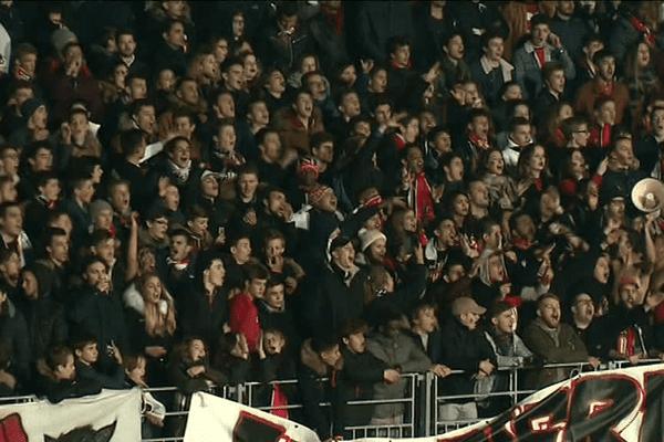 Le 8ème tour de la coupe de France : Séné contre Lorient - Les supporters à Vannes