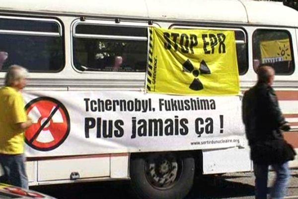 Narbonne (Aude) - journée d'action contre le nucléaire - 13 octobre 2012.