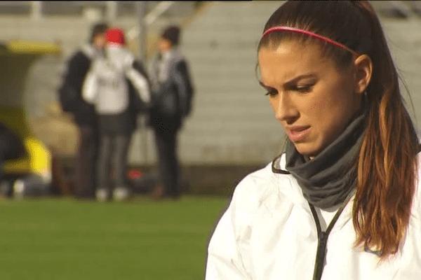 Alex Morgane, la nouvelle star américaine de l'OL Féminin