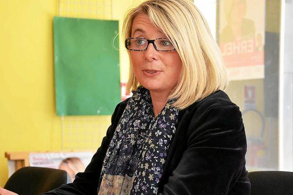 La députée PS Corinne Erhel -12/06/2012