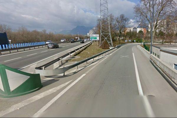 L'altercation a eu lieu vers la sortie de l'A480 en direction de Grenoble.