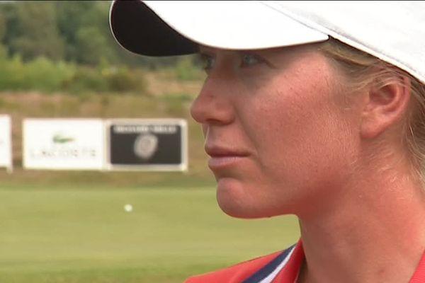 Au Pian-Médoc, l'espoir girondine du golf Emma Grechi a pu se confronter aux meilleures.