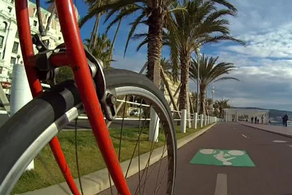 Nice compte 75 pistes cyclables.