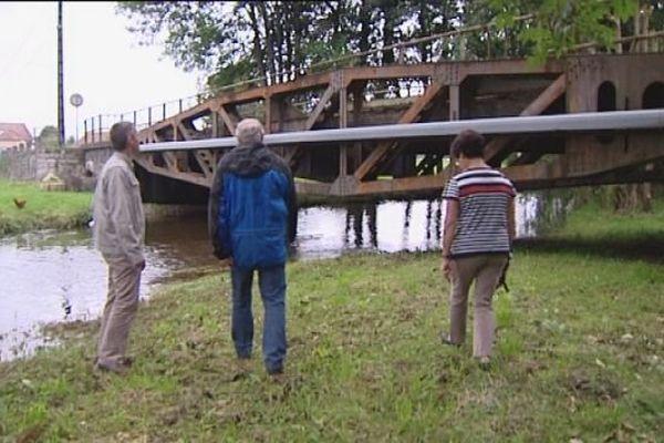 70 ans après le débarquement, Chaux possède l'un des derniers vestiges du pont artificiel d'Arromanches.