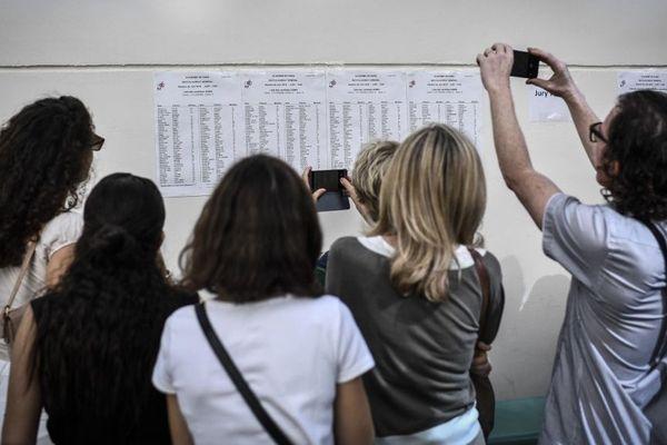 Les résultats du premier groupe d'épreuve du baccalauréat ont été dévoilés ce mardi.