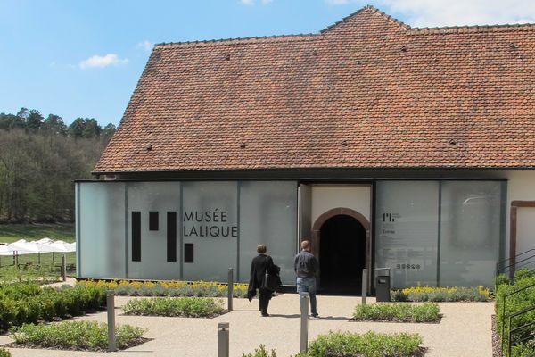Le musée Lalique à Wingen-sur-Moder.