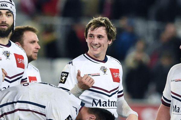 Baptiste Serin peut sourire. La victoire ce samedi soir contre Toulouse est à mettre à son crédit ...