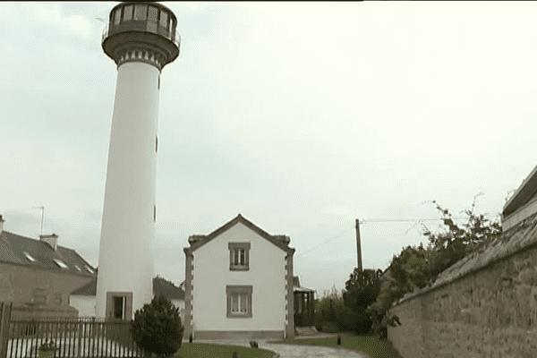 Le phare de Kerbel à Riantec (56)