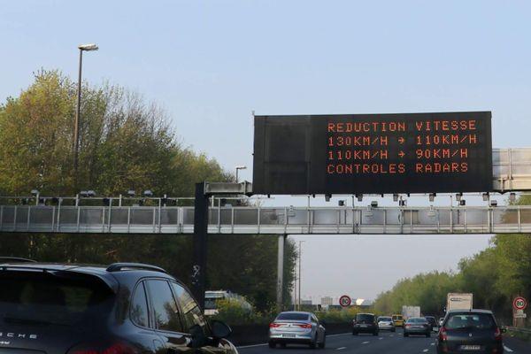 Il faudra abaisser jusqu'à lundi midi sa vitesse sur les routes du Nord, de l'Oise et du Pas-de-Calais.