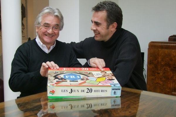 Jean-Pierre Descombe et Flavien Texier