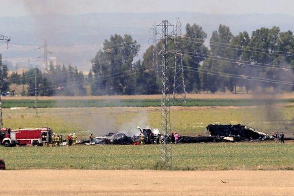 Le crash de l'A400M à Séville