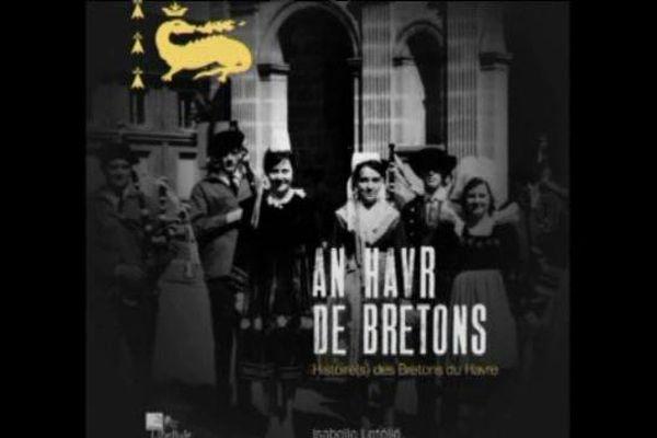 La couverture du nouvel ouvrage d'Isabelle Létélié, auteur de plusieurs ouvrages sur l'histoire et le patrimoine du Havre.