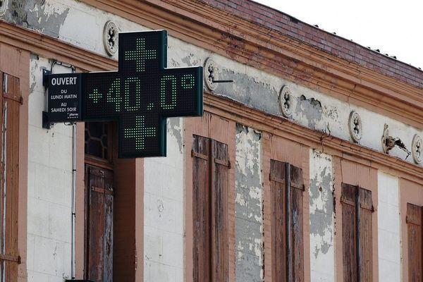 Le 27 juin 2019 a été le jour le plus chaud de l'année avec 40° à Toulouse et 42° à Grenade-sur-Garonne.