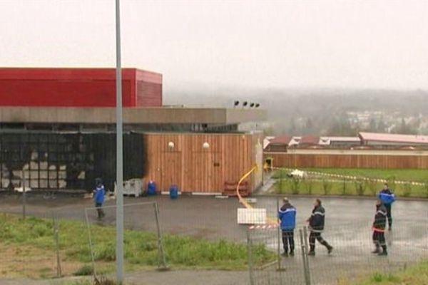 Urekâ: un incendie criminel a eu lieu dans les locaux du musée de mine d'Areva à Bessines-sur-Gartempe le 5 avril 2014