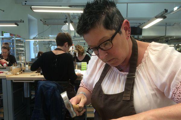 130 personnes travaillent actuellement dans les ateliers Hermès de Saint-Junien.