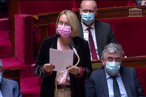 Frédérique Meunier, députée LR de Corrèze, lors des questions au gouvernement, le 25 mai 2021