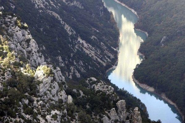 Les gorges du Verdon, site protégé à cheval sur les départements du Var et des Alpes-de-Haute Provence (Archives)