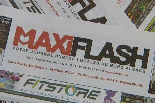Maxiflash, l'hebdo gratuit du nord de l'Alsace