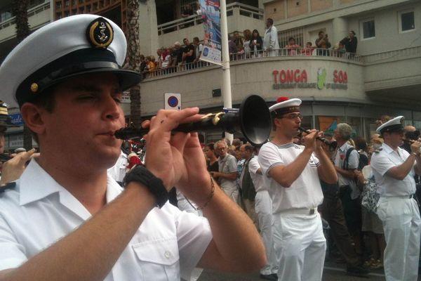 La parade des équipages à Toulon