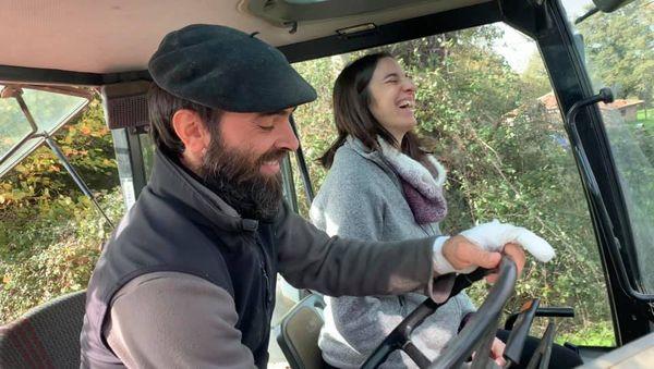 Pedro et Sophie - La ferme de Gorce - Charente