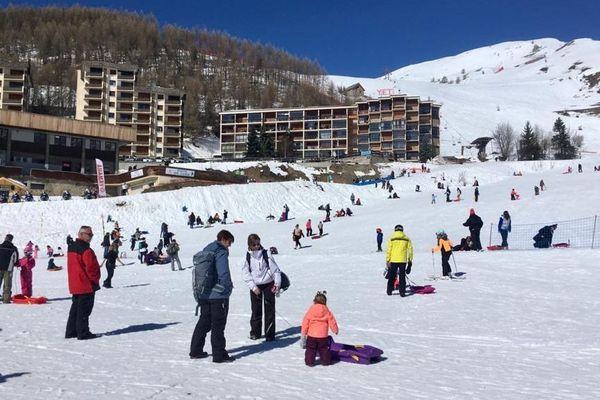 Les stations de ski des Alpes du Sud ferment  définitivement dès ce dimanche  comme ici à Orcières-Merlette.