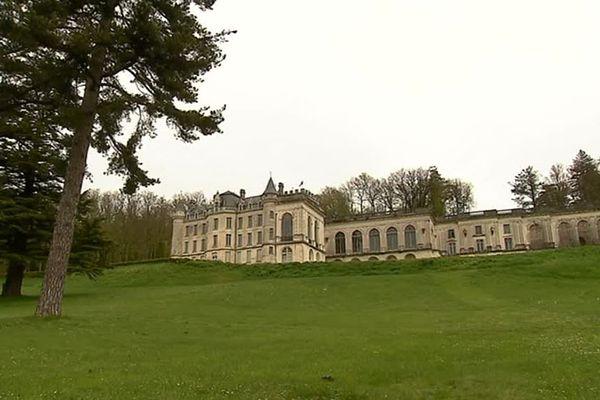 Le château de la Mercerie, en Charente