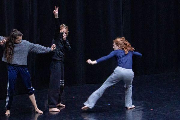 Répétition publique d'Olivia Grandville le 9 mai 2019 à l'Opéra national de Lorraine.