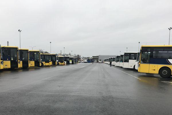 Le réseau des transports scolaires au ralenti le 16 décembre 2019 en Loire-Atlantique