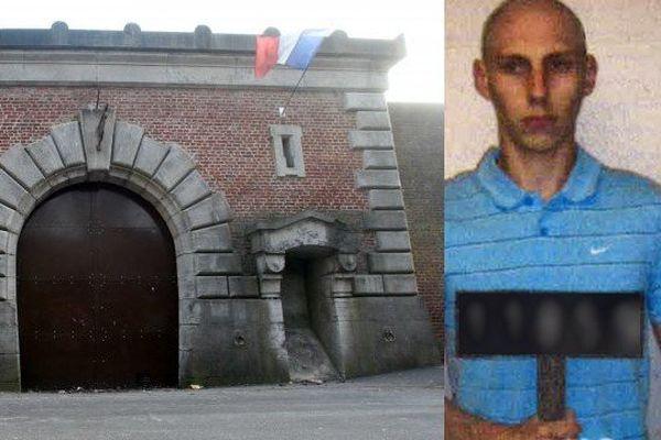 Yoann Candelier s'est évadé de la prison d'Arras lundi matin.
