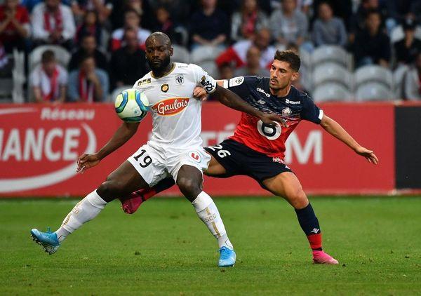Jérémy Pied (à droite) contre Angers le 13 septembre dernier.