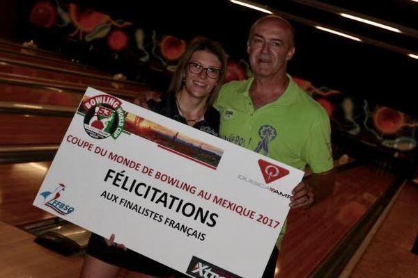 Parmi les qualifiés du week-end, il y a une régionale. Stéphanie Dubourg, du Bowling Clud de Sevrier-Annecy. Elle a décroché son billet pour les Mondiaux, au Mexique en novembre.