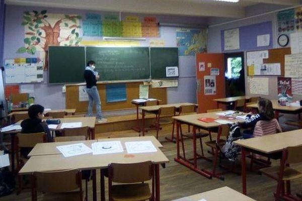 L'école élémentaire Bungert à Thann est ouverte aux CM2 ce jeudi 16 mai