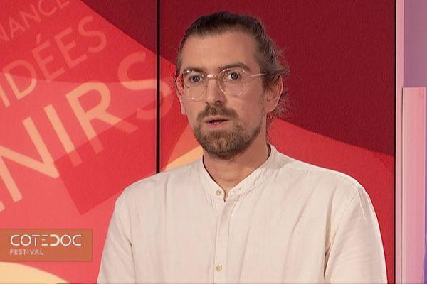 Jérôme Polidor, réalisateur du film « jeunes de service »