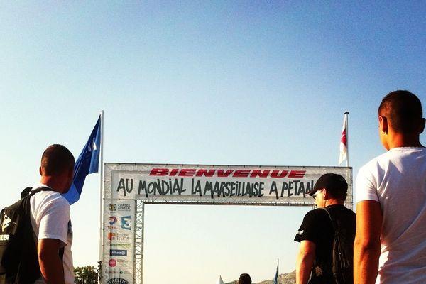 Entrée du Parc Borély à Marseille - photo C. Monteil