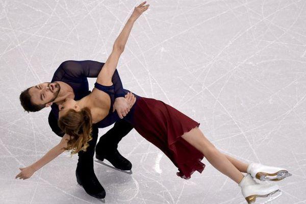 Les Clermontois Gabriella Papadakis et Guillaume Cizeron ont remporté à Boston, le 1er avril 2016, leur 2e titre mondial de danse sur glace.
