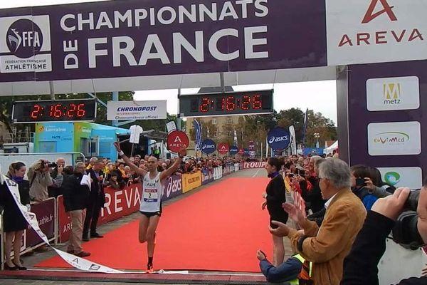 le messin Bouabdellah Tahri devient champion de France du marathon 2014